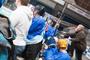Hokejová bitva - střídačka