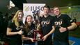 Světové hry v Římě - Vítězné badmintonisté